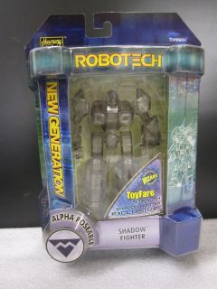 Robotech Stealth Shadow Fighter Alpha Poseable Figure   ToyFare