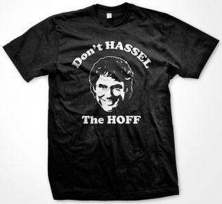 the Hoff David Knight Rider Baywatch Burger Tabloid Mens T Shirt