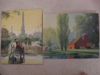 ART LAND MARK BY BEALL SPRING MORN BY ROBERT WOOD LITHO