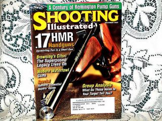 SHOOTING ILLUSTRATED 11/2003~KIMBER 22~REMINGTON 7600~GLOCK 37