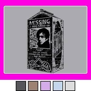 Women SYD BARRETT Pink Floyd Missing Lady T Shirt S 3XL