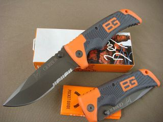 Gerber Bear Grylls Ultimate Tactical Camping Hunting Survival Folding