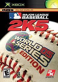 Major League Baseball 2K5 World Series Edition Xbox, 2005