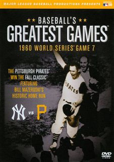 MLB Baseballs Greatest Games   1960 World Series Game 7 DVD, 2011