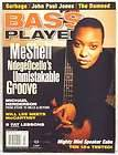BASS PLAYER MAGAZINE MESHELL NDEGEOCELLO JOHN PAUL JONES GARBAGE WILL