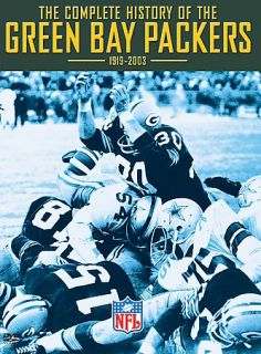 Complete History of the Green Bay Packers DVD, 2003, 2 Disc Set