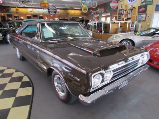 Plymouth  GTX BELVEDERE 1967 PLYMOUTH BELVEDERE ROTISSERIE