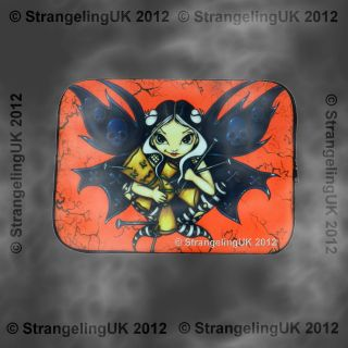 VOODOO** Goth Fantasy Art Laptop Sleeve By Jasmine Becket Griffit​h
