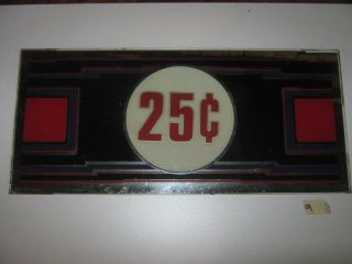 25 cent slot machine in Antique Coin Slot Machines
