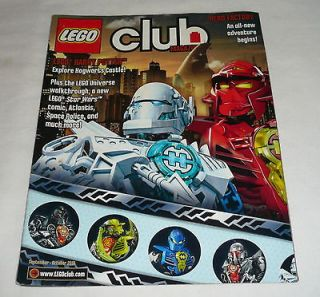 LEGO CLUB MAGAZINE ~ September/Octo​ber 2010