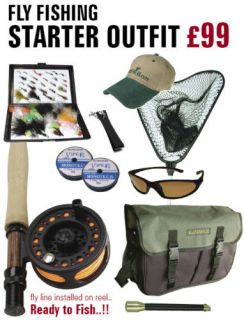 Maybe you should fly a jeti can read all by myself for Fly fishing starter kit