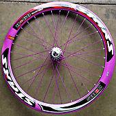 Deep Rims Aluminum alloy front & rear wheels fixie fixed gear bike pp