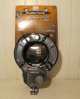 NEW Master Lock Street Cuff SS Bicycle Lock Maximum Security (8202DPRO