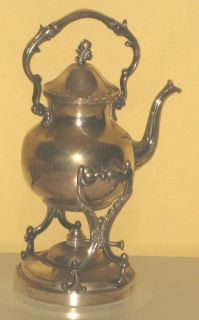 BIRMINGHAM SILVER COMPANY TEA COFFEE TILT SAMOVAR VINTAGE (BSC)