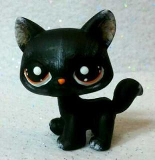 Kristen The Black Cat * OOAK Hand Painted Custom Littlest Pet Shop