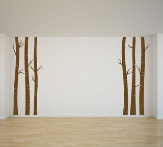 birch tree decal in Decals, Stickers & Vinyl Art