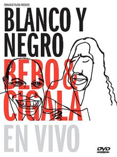 Bebo Cigala   Blanco y Negro en Vivo DVD, 2005, 2 Disc Set