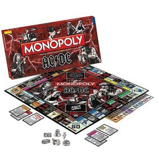 AC/DC Collectors Edition Monopoly New 2011 Sold as Is OK for Play