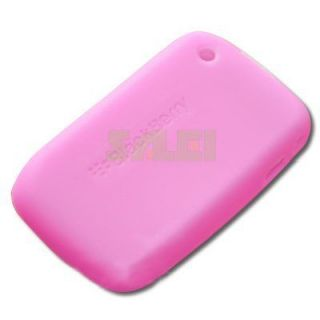Silicone Rubber Case Cover for Blackberry Curve 8530 8520 9300 9330