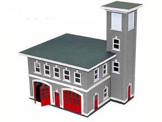 87 HO Scale Boley Fire Station House 2602