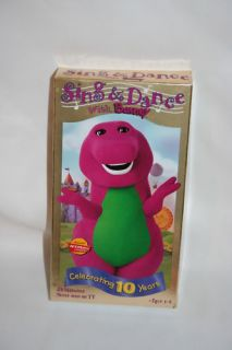 Barney   Sing and Dance With Barney (VHS, 1999)
