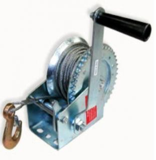 1200lb HAND WINCH ~ CABLE   BOAT   CAR   TRAILER   4X4