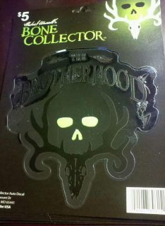 Bone Collector Auto Decal * The Brotherhood * Deer Skull *
