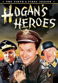 Hogans Heroes   The Sixth Final Season DVD, 2007, 4 Disc Set