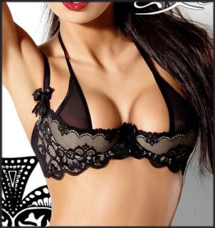 quarter cup bra in Bras & Bra Sets