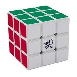 White 3x3x3 Dayan GuHong V2 II Puzzle Rubiks Cube Rubix Rubics