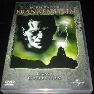 FRANKENSTEIN LEGACY COLLECTION 4 DVD BORIS KARLOFF