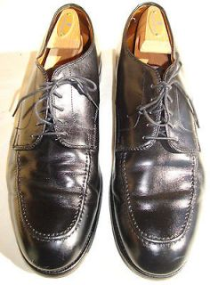 Brooks Brothers Alden Black Leather Oxfords Shoes   13D   Very Good