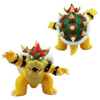 NEW Wii Nintendo Super Mario Bros 7 Bowser Jr Plush Doll Figure Toy