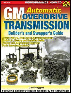 Transmission Builder Guide 1982 2000 Astro Safari Blazer Jimmy S10 GMC