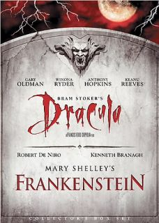 Bram Stokers Dracula Mary Shellys Frankenstein 2 Pack DVD, 2005, 2