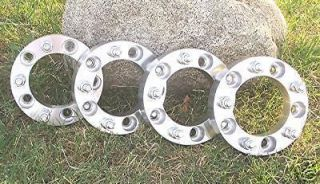 FORD  F150  FULL SIZE BRONCO  5x5.5  WHEEL ADAPTERS  SPACERS  1