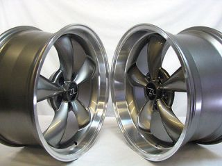 Deep Dish Mustang ® Bullitt Wheels 18x9 & 18x10 inch 2005   2013, 18