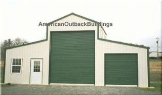 AMERICAN BARN STEEL  METAL BUILDING  SHOP   GARAGE KIT