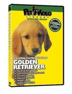GOLDEN RETRIEVER ~ Puppy ~ Dog Care & Training DVD New