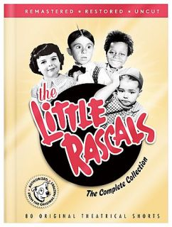 The Little Rascals   The Complete Collection DVD, 2008, 8 Disc Set