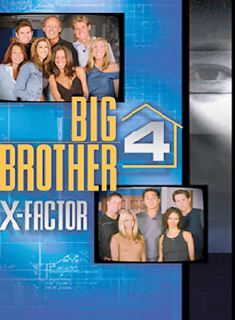Big Brother 4 X Factor DVD, 2004, 2 Disc Set