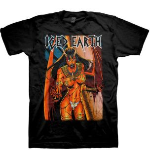 ICED EARTH Egyptian Woman Official SHIRT M L XL Heavy Metal T Shirt