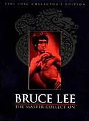 Bruce Lee   The Master Collection DVD, 1999, 5 Disc Set