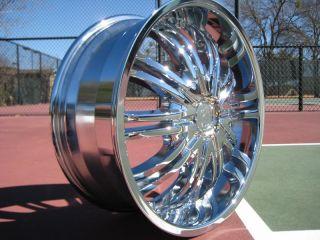 of Four brand new Chrome Wheels Rims Cadillac CTS DTS STS Eldorado