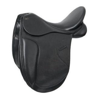 New Shires Optimus Adjustable Chester Dressage Leather Saddle + Gullet