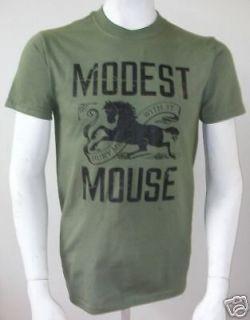 Modest Mouse Bury Me With It Medium Shirt Isaac Brock SATISFACTION