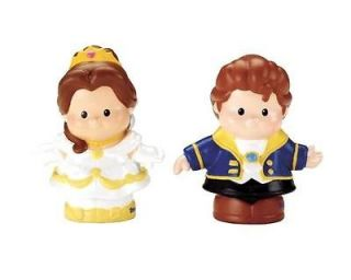 Fisher Price DISNEY PRINCESS Little People Belle and Prince Adam