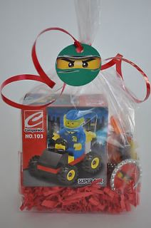 18 Lego Ninjago Building Blocks Kid Birthday Party Favor Filled Goodie