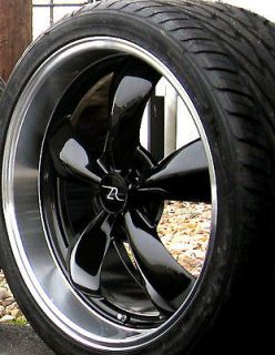 Black Mustang Bullitt Wheels 20x8.5 & 20x10 Toyo tires 20 inch Rims