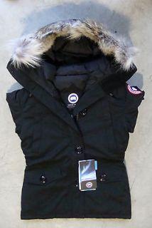 Canada Goose Womens Montebello Parka   Black   SM